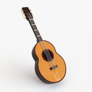 guitar toy 3d model