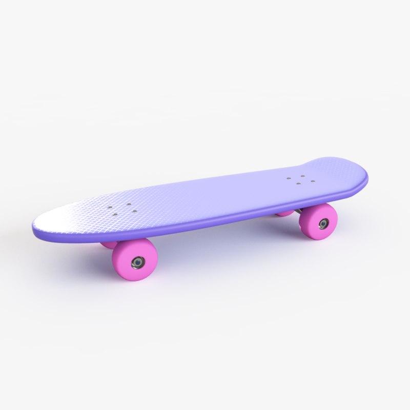 3d model skate toy