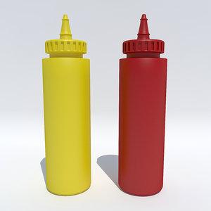 3ds ketchup mustard