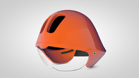 cycle performance helmet 3d model