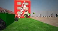 street building : polys 3ds