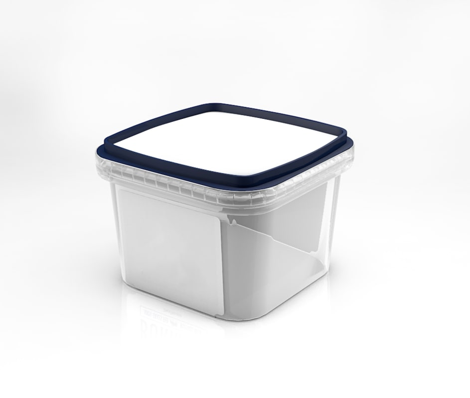 container food packaging 3d model