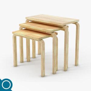 free max mode alvar aalto 88 table set