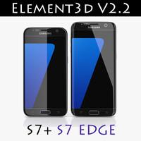Element3D V2.2 Galaxy S7 + S7 Egde