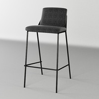 Chair Sling Bar Stool Upholstered