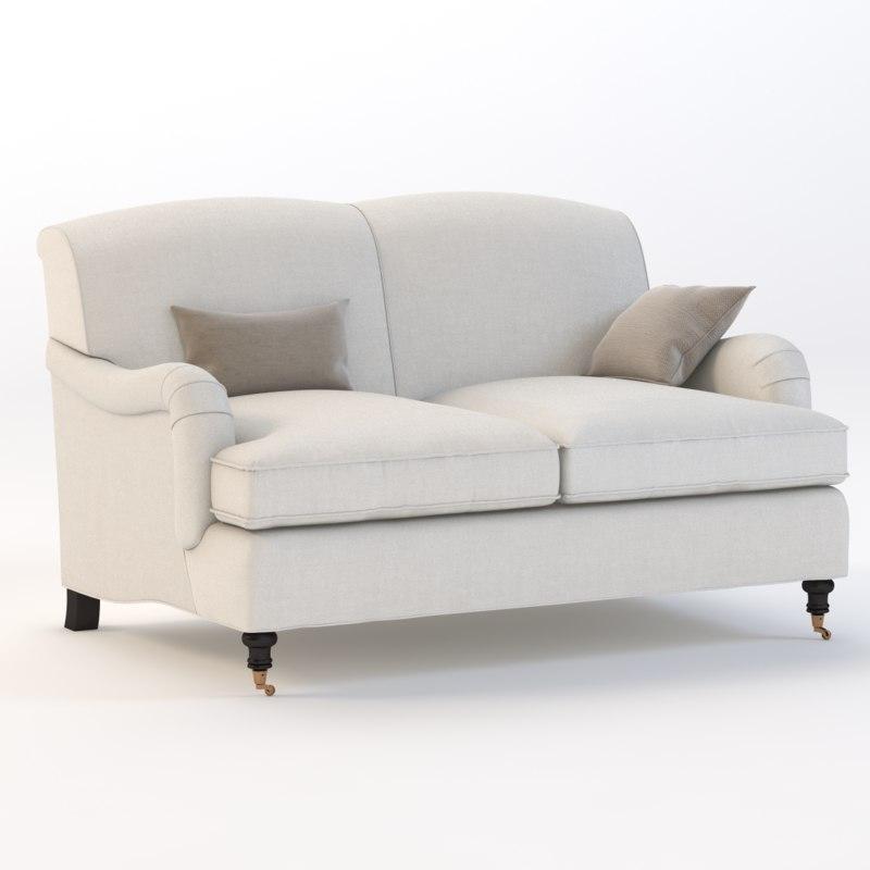 joybird robin sofa 3d model