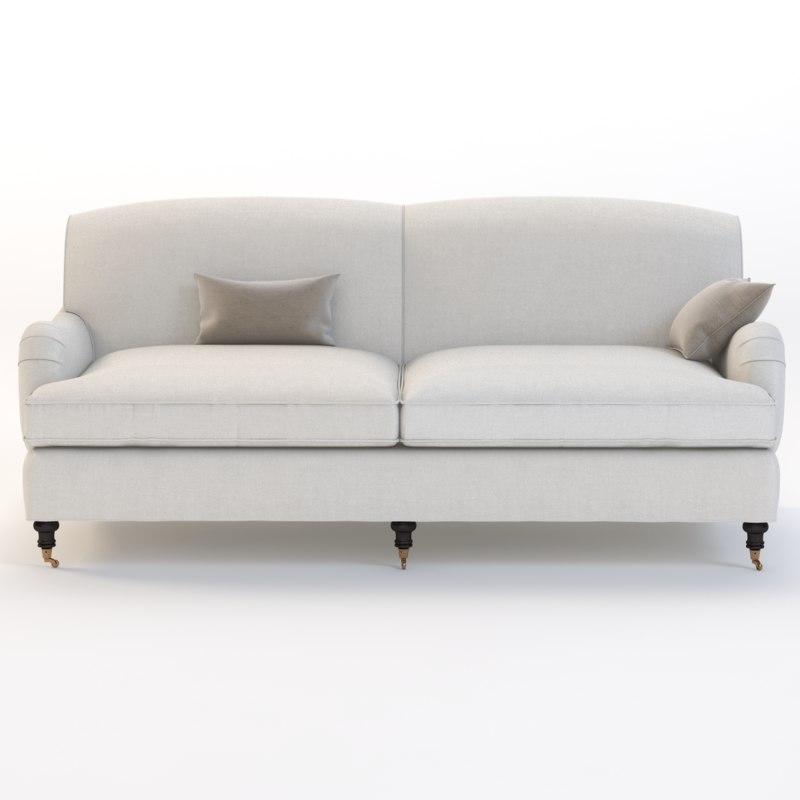 3d joybird robin sofa