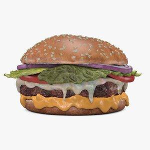 c4d cheeseburger cheese