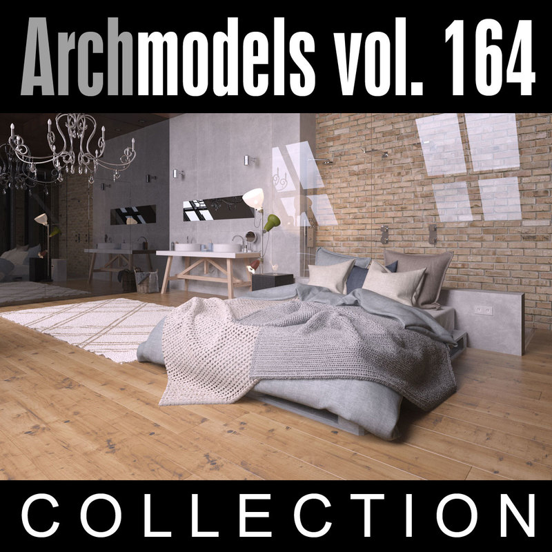3d archmodels vol 164 model