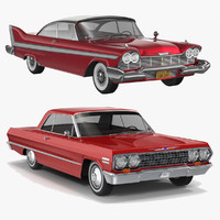 3d plymouth fury coupe