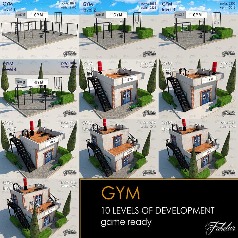 gym 10 levels max