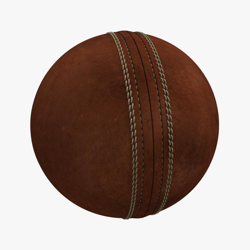 cricket ball 3d max