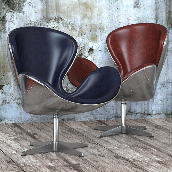 seat spitfire swan chair 3d max