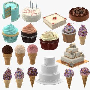 3d ice cream