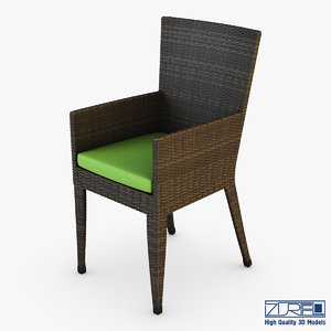 rexus chair brown v max