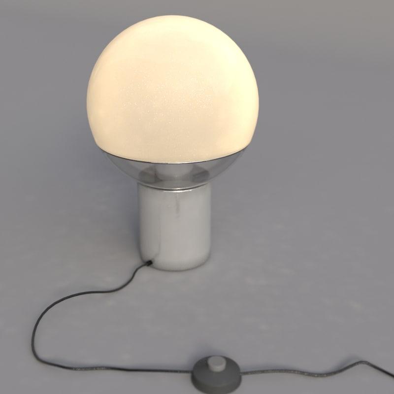 3d model lamp classical interior
