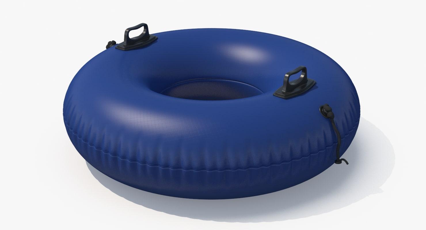 inner tube 3d model