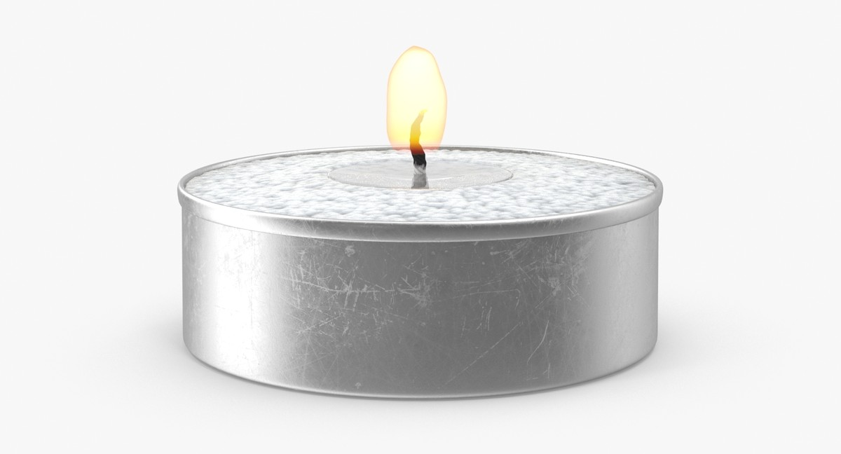 max tea light candle flame