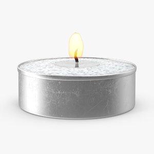 max tea light candle flame