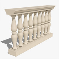 Classical Balustrade