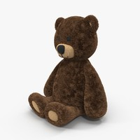 toy teddy bear 3d obj