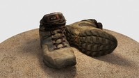 hiking boots 3ds