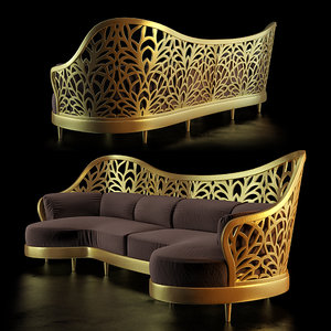 3d model sofa ardeco