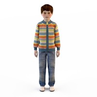children's clothes for boys ( jacket , jeans )