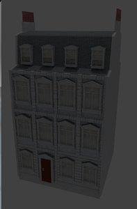 old european building blend
