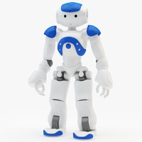 Riged Robot Nao Blue