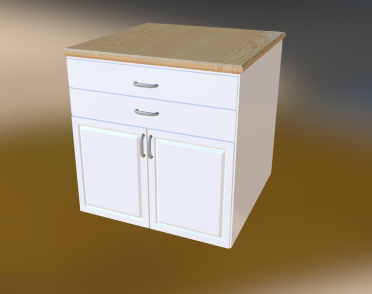 furniture drawers fbx