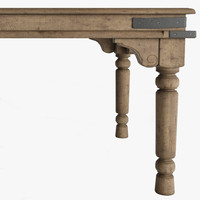 19TH C. KERALA RECTANGULAR DINING TABLE