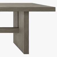 PACAMARA RECTANGULAR DINING TABLE GREY