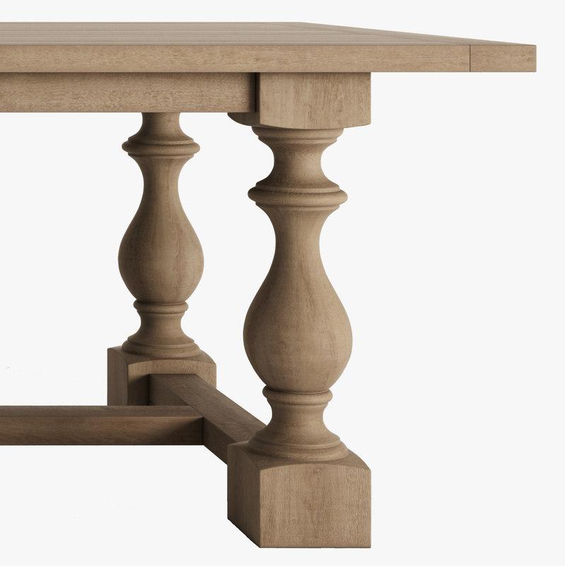 3d model tables monasteries