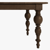 3d table grand extension model