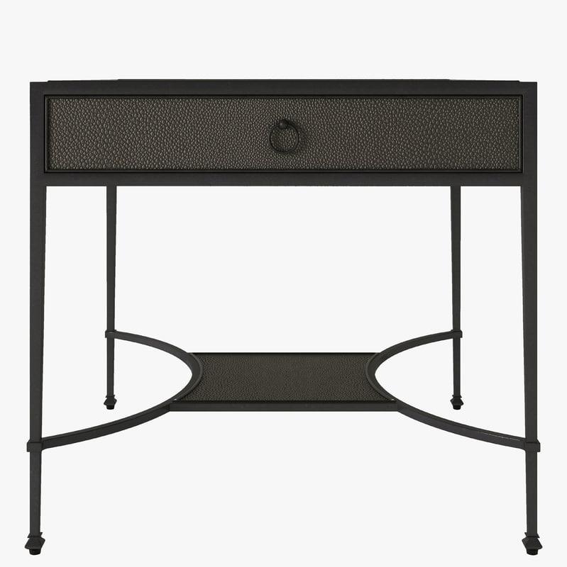 table shagreen 3d model