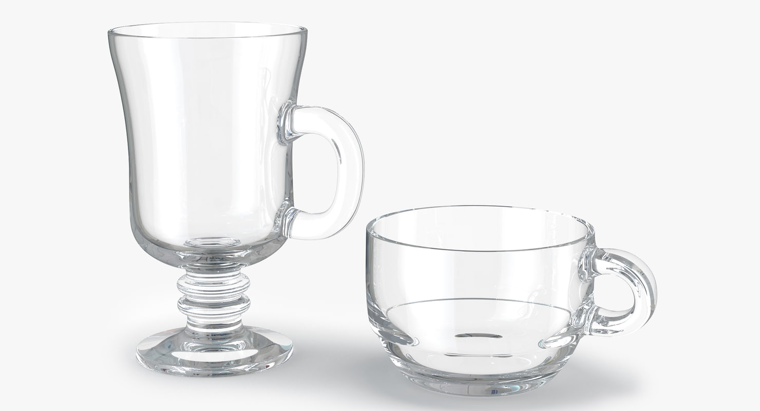 glass hot drink punch 3d max