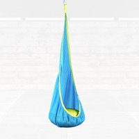 swinging hammock chair 3d model
