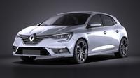 Renault Megane 2016 VRAY