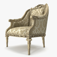 Luxury Armchair _ 035