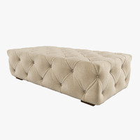 Restoration Hardware / Soho Ottoman