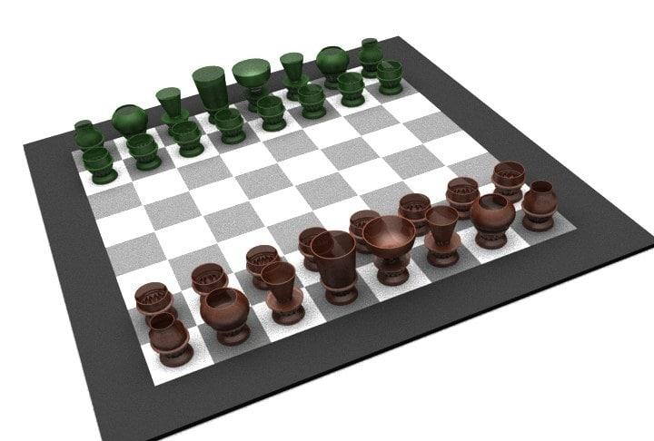 alco chess 3d model