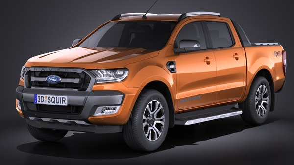 ranger wildtrak 2017 3ds