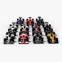 formula 1 2016 teams 3d max