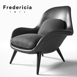 fredericia swoon 3d max