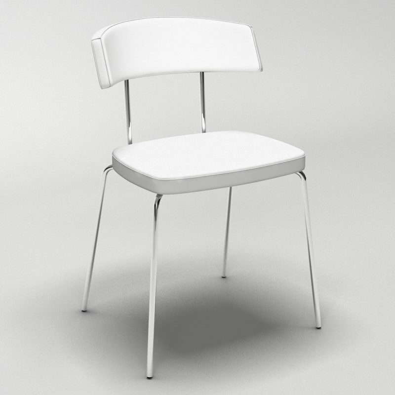 nordica chair seat 3d model