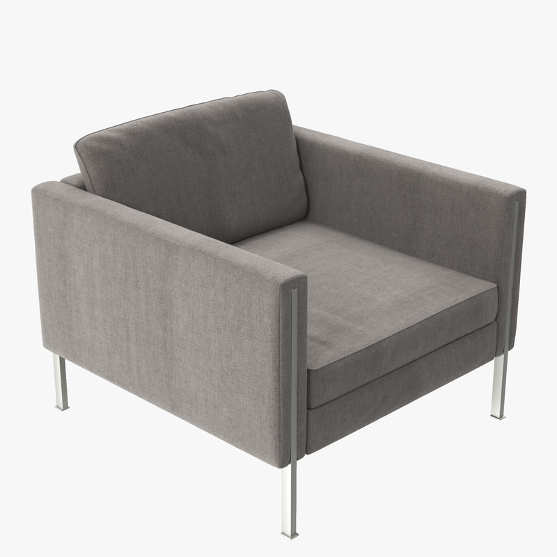 ligneroset andy chair 3d model