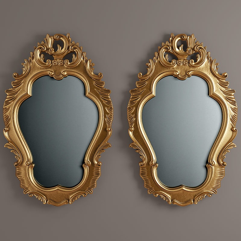 carved mirror max