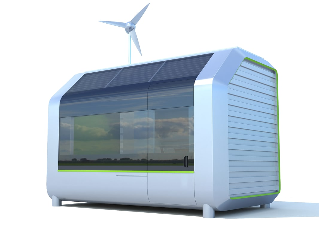 house eco 3d model