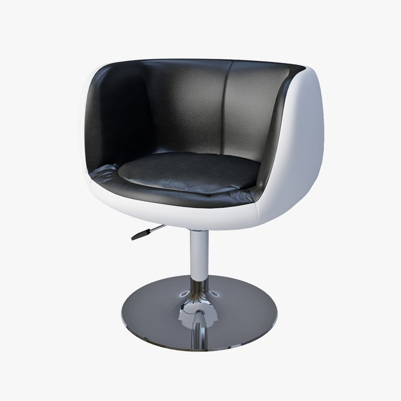3d model bar chair ch-5032 cup